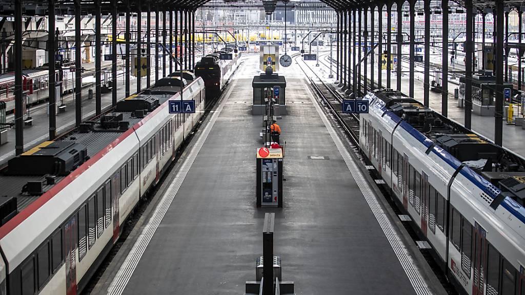 Bahnverkehr im Bahnhof Luzern während 30 Minuten lahm gelegt