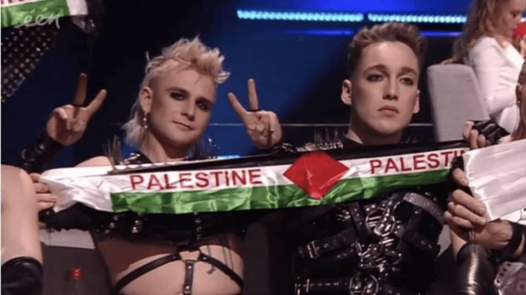 Island muss wegen Palästinenserschals bei ESC Strafe zahlen