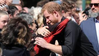 Bei den Briten ist Prinz Harry der beliebteste Royal. Seine Frau Meghan folgt erst auf Platz sechs. (Archivbild)