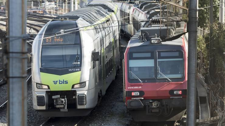 Künftig sollen BLS-Züge auf den Strecken Bern–Biel und Bern–Burgdorf–Olten verkehren.