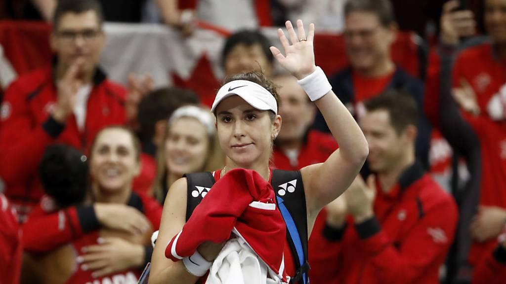 Belinda Bencic und die anderen Schweizerinnen müssen auf die Premiere beim Fed Cup noch warten.