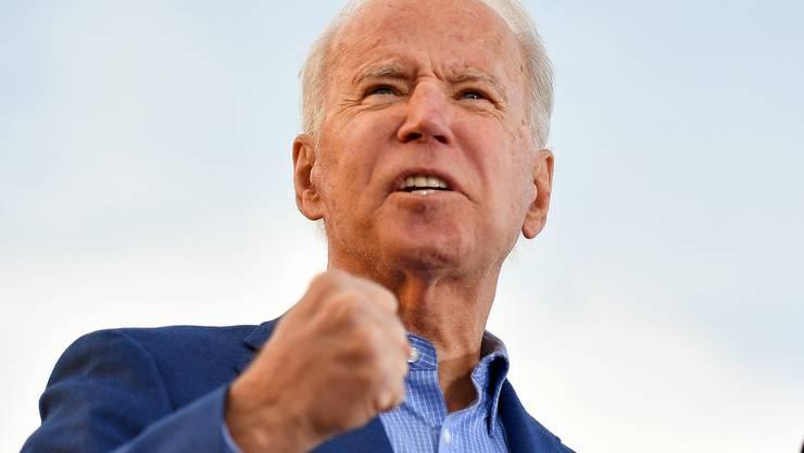US-Präsidentschaftskandidat Joe Biden.