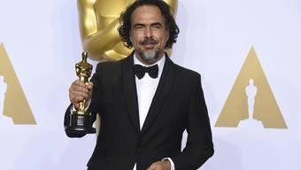 """Goldmännchen für den Virtual-Reality-Kurzfilm """"Carne y Arena"""": der mexikanische Regisseur Alejandro G. Inarritu erhält Mitte November einen  Ehren-Oscar. (Archivbild)"""