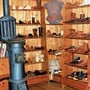 Das Schuhmuseum in Lausanne besteht aus einem einzigen, kleinen Raum.