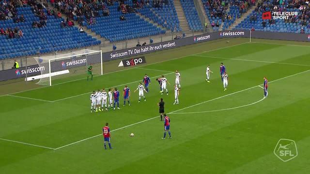 Super League, 2018/19, 13. Runde FC Basel - FC Lugano 1:0 Kevin Bua