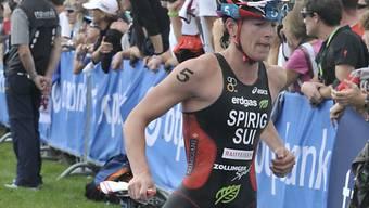 Olympiasiegerin Nicola Spirig befindet sich noch im Aufbau