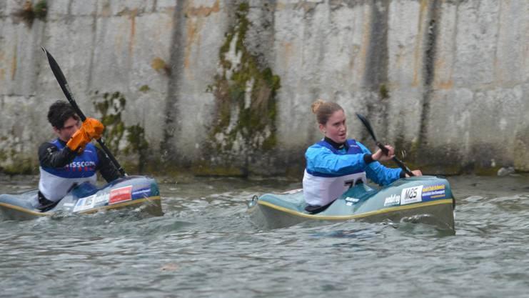 Melanie Mathis hat mit Hannah Müller eine neue Konkurrentin.