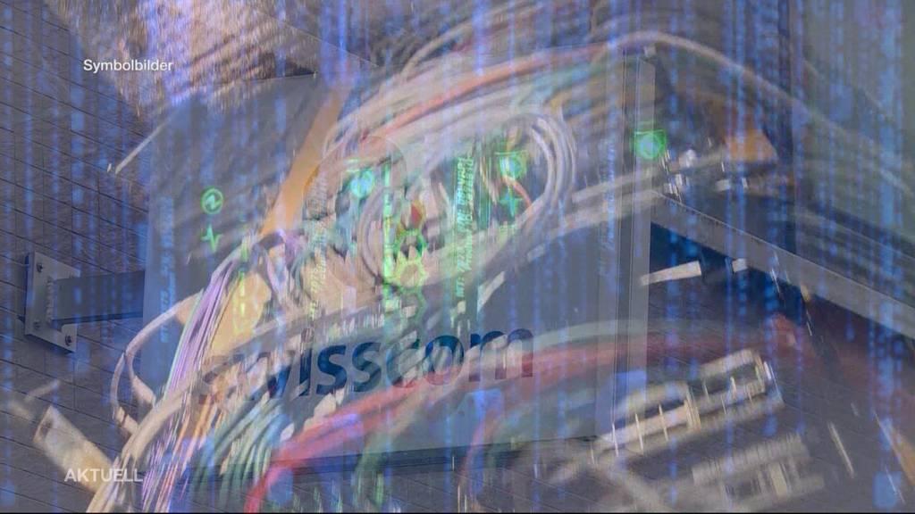 Swisscom-Netz teilweise ausgefallen