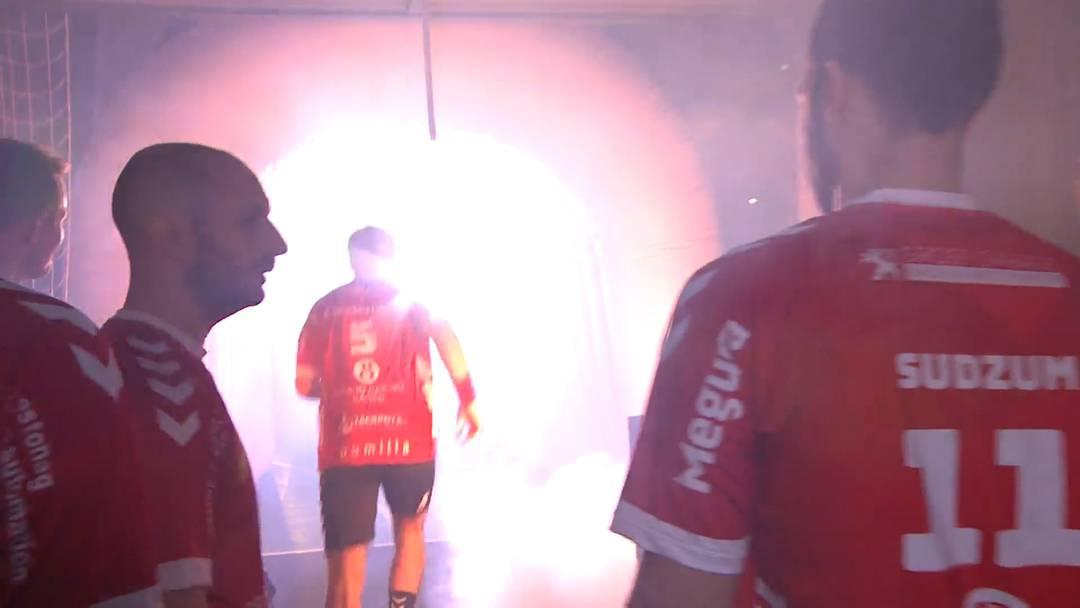 Nebelmaschine löst beim Aargauer Handball-Derby einen Feuerwehreinsatz aus