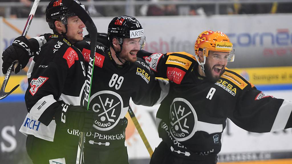 Achter Sieg für Lugano gegen Ambri-Piotta in Serie