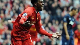 Daniel Sturridge schoss Liverpool zum Sieg gegen Manchester Untied.