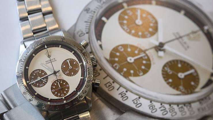 Für einie Tage werden keine Luxusuhren der Marke Rolex mehr hergestellt.  (Archivbild)