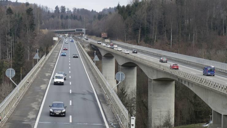 Der allgemeine Zustand der Schweizer Brücken ist gut. Lediglich bei rund 40 Brücken besteht ein Sanierungsbedarf. (Archiv)