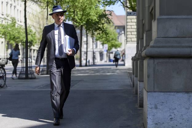 Pflegt sein Image als Krisenmanager: SP-Bundesrat Alain Berset.