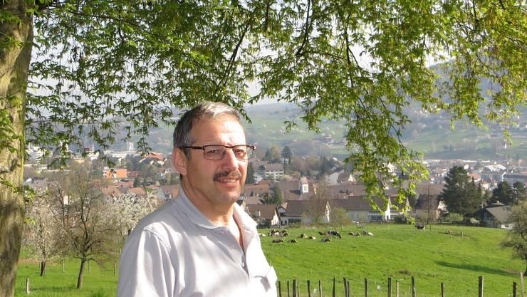 Theo Martin, der Präsident vom Verkehrs- und Verschönerungsverein von Frenkendorf.