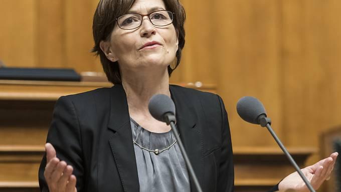 Die Grünen-Chefin Regula Rytz macht Vorschläge für eine neue Zusammensetzung des Bundesrates. (Archivbild)