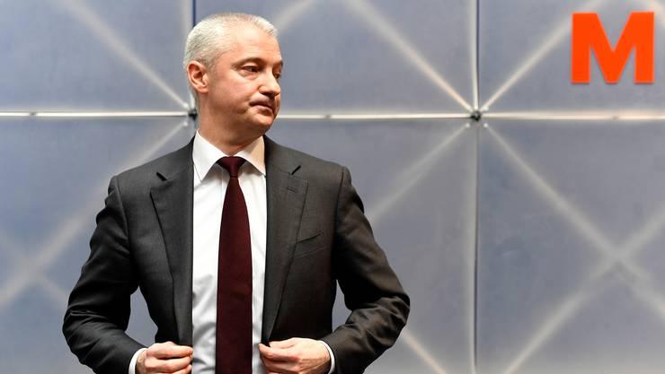 Muss die Migros für den bevorstehenden Kampf gegen Amazon fit trimmen: Fabrice Zumbrunnen (48).Walter Bieri/Keystone