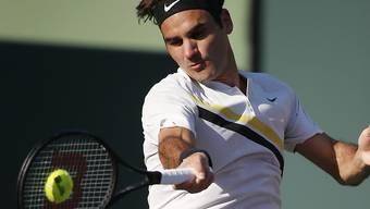 Roger Federer bestreitet seine erste Partie in Stuttgart wohl am Mittwoch