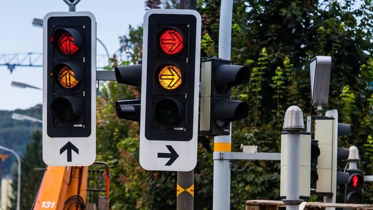 Im Kanton gehören seit rund 60 Jahren Ampeln zum Strassenbild. Peter Siegrist