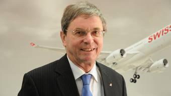 Swiss Verwaltungsratspräsident Bruno Gehrig.