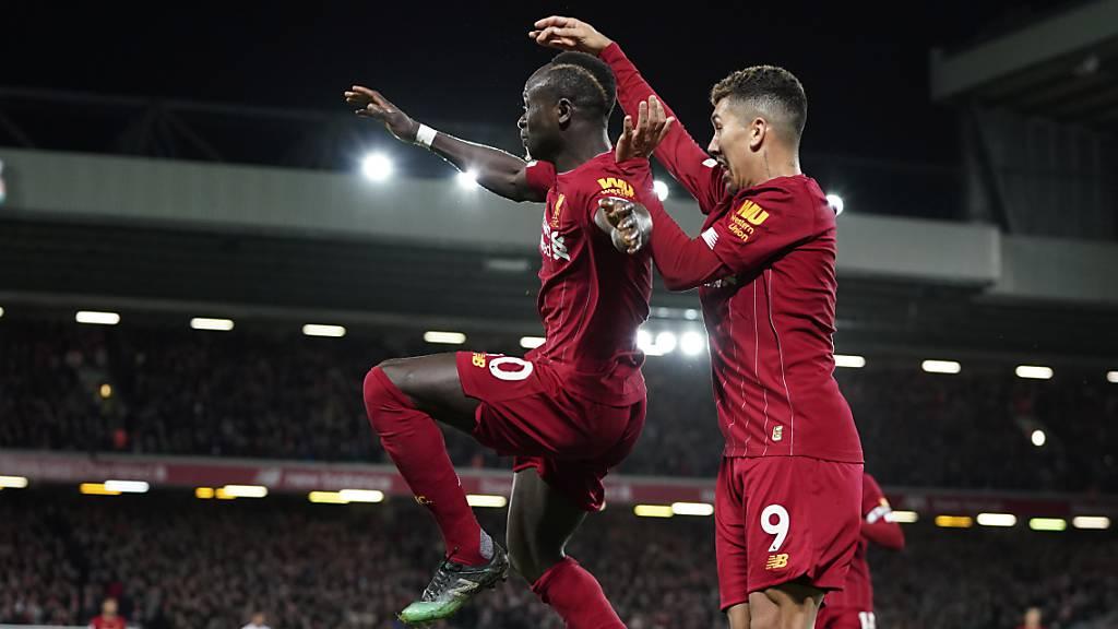 Liverpool gegen Aufsteiger Sheffield United ungefährdet