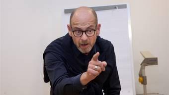Laienschauspieler Markus Fricker wird die Führung begleiten. zvg