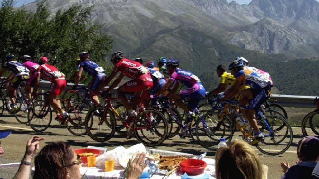 Die Favoriten der Vuelta verbrachten einen eher ruhigen Tag