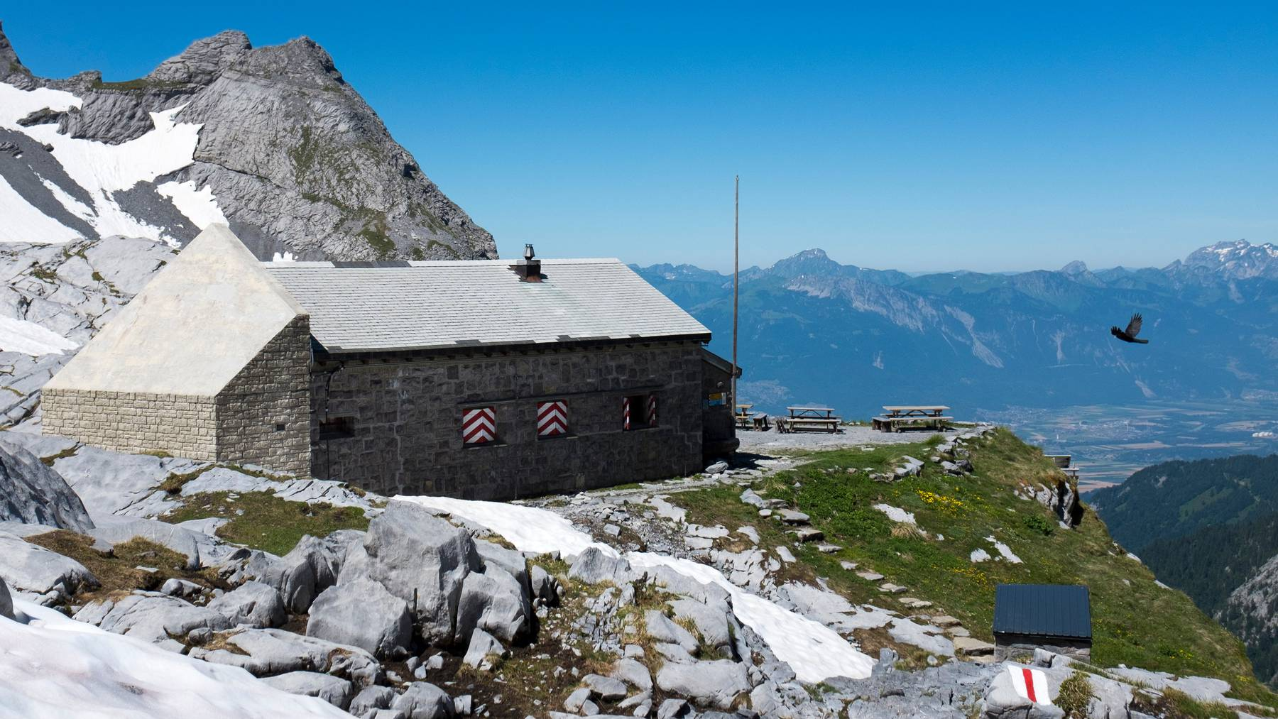 Die Vermisste wurde in der Nähe der Cabane de Plan Névé auf über 2000 Metern über Meer tot aufgefunden.
