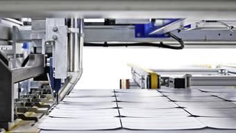Solarmodul-Fabrik der Megasol in Deitingen