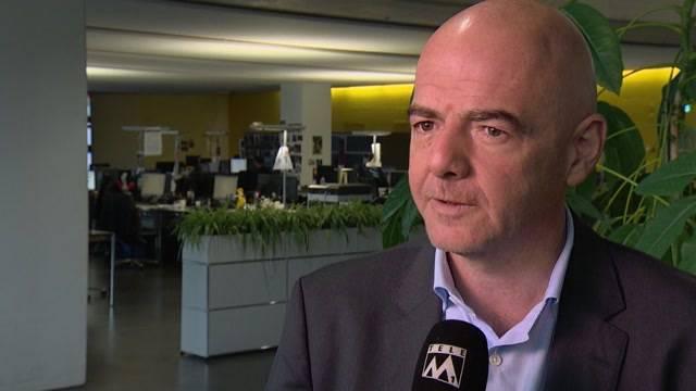 FIFA-Präsident bei Tele M1