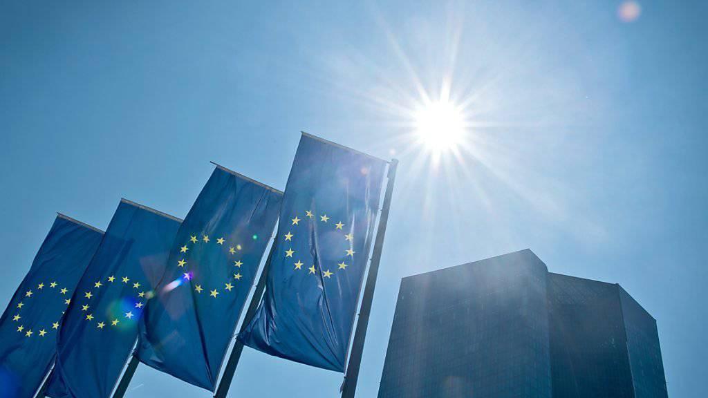 Die Europäische Zentralbank (EZB) mit Sitz in Frankfurt bleibt bei ihrer extrem lockeren Geldpolitik.
