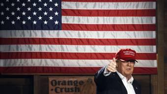 """""""Komplettes Desaster"""": Holocaust-Überlebende vergleicht Donald Trump mit Adolf Hiltler."""