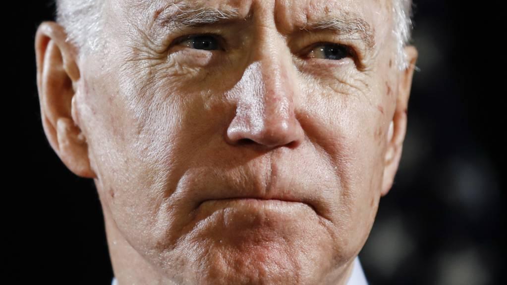 ARCHIV - Joe Biden, Präsidentschaftskandidat der US-Demokraten. Foto: Matt Rourke/AP/dpa