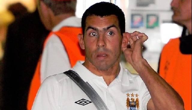 Tevez von Manchester City verweiger die Einwechslung