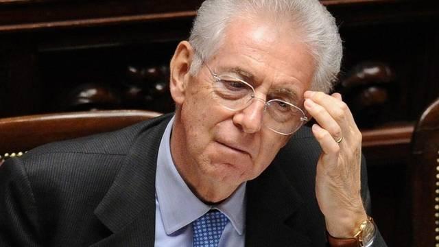 Der italienische Premier Mario Monti krebst bei Rentnern zurück (Archiv)