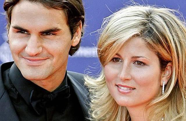 Roger und Mirka Federer (Archiv)