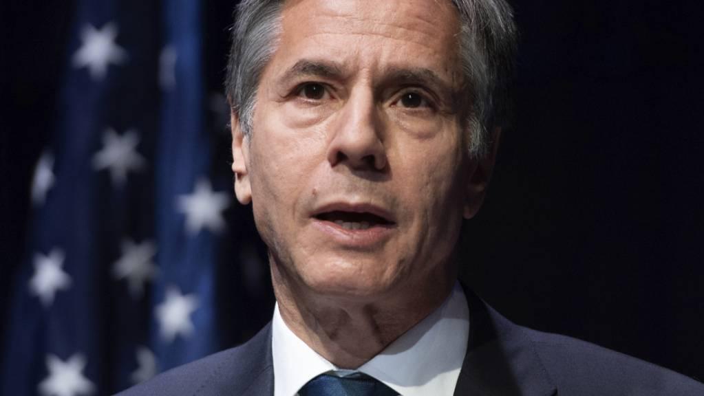 Antony Blinken, Aussenminister der USA.