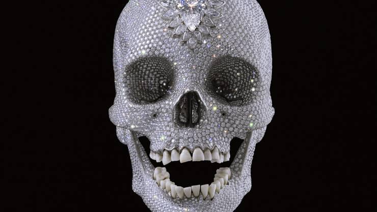 Totenschädel von Damien Hirst.