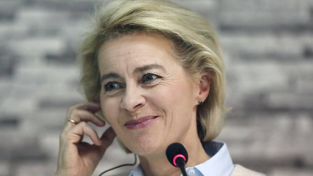 Verteidigungsministerin Ursula von der Leyen (Aufnahme von Anfang Dezember im afghanischen Verteidigungsministerium in Kabul).