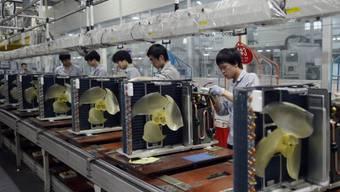Klimaanlagen-Fabrik im chinesischen Wuhan (Symbolbild)