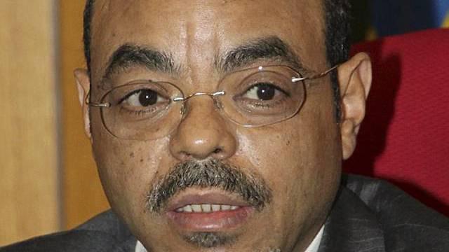 Ministerpräsident Meles Zenawi (Archiv)