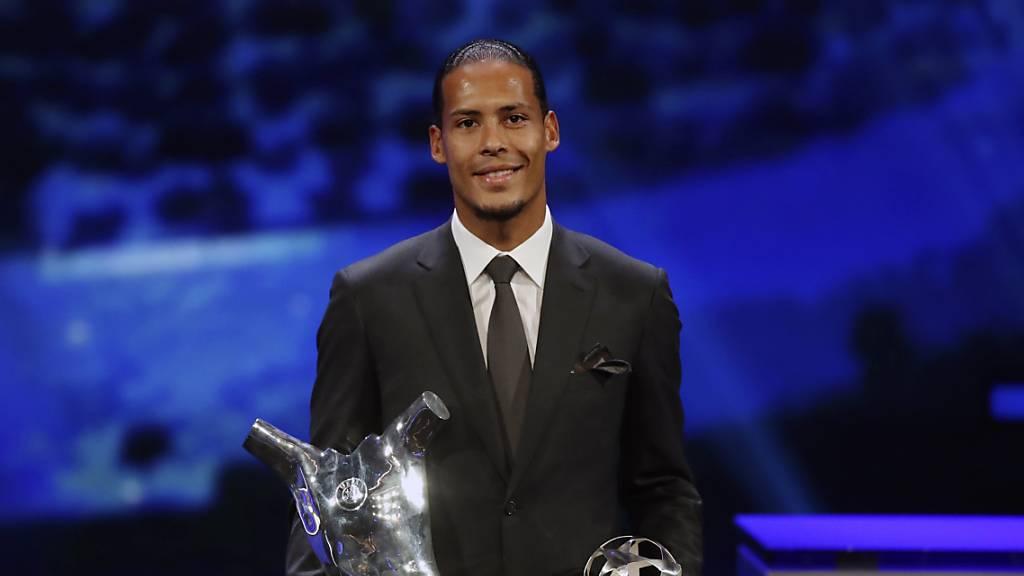 Van Dijk ist Europas Spieler des Jahres