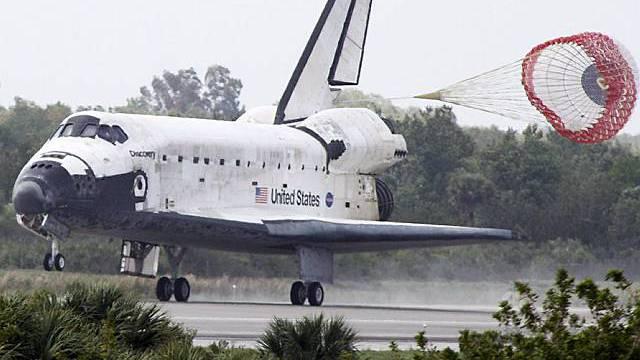 US-Raumfähre sicher gelandet