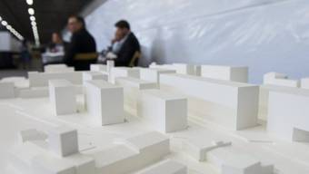 Am Donnerstag vorgestelltes Modell des Campus ETH Lausanne/Wallis