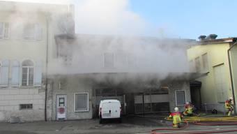 Beim Brand in der Shisha-Bar wurde niemand verletzt.