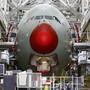Flugzeugmontage beim europäischen Hersteller Airbus in Toulouse F. (Archivbild)