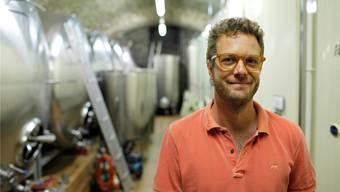Michael Kaben ist der neue Geschäftsführer der Weinbaugenossenschaft Döttingen – und will neues Know-how ins Winzerdorf bringen.