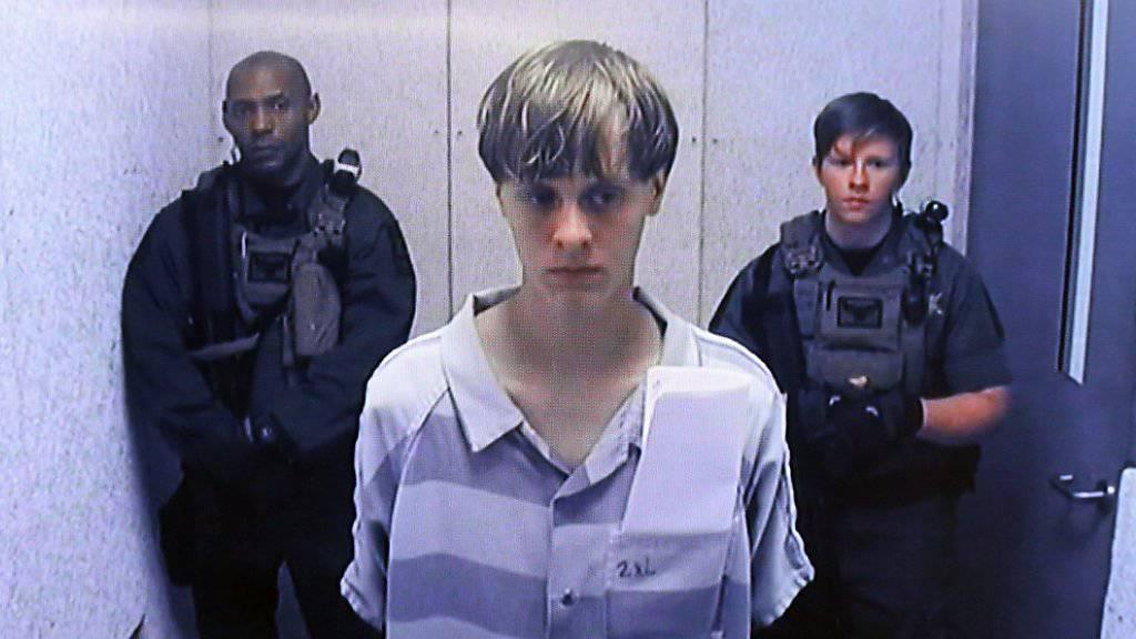 Zum Tode verurteilt für sein Hassverbrechern: Dylann Roof. (Archivbild)