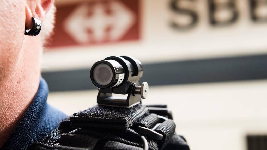 Einführung von Bodycams für Transportpolizei rückt näher