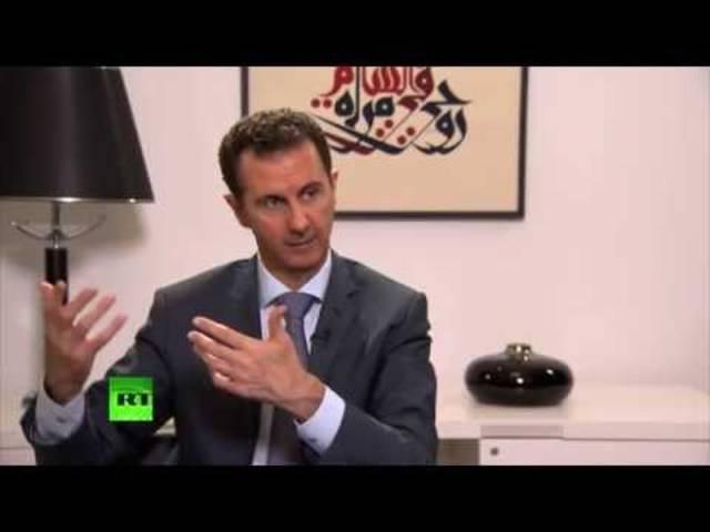 Das ganze Interview mit Syriens Präsident, Bashar Assad